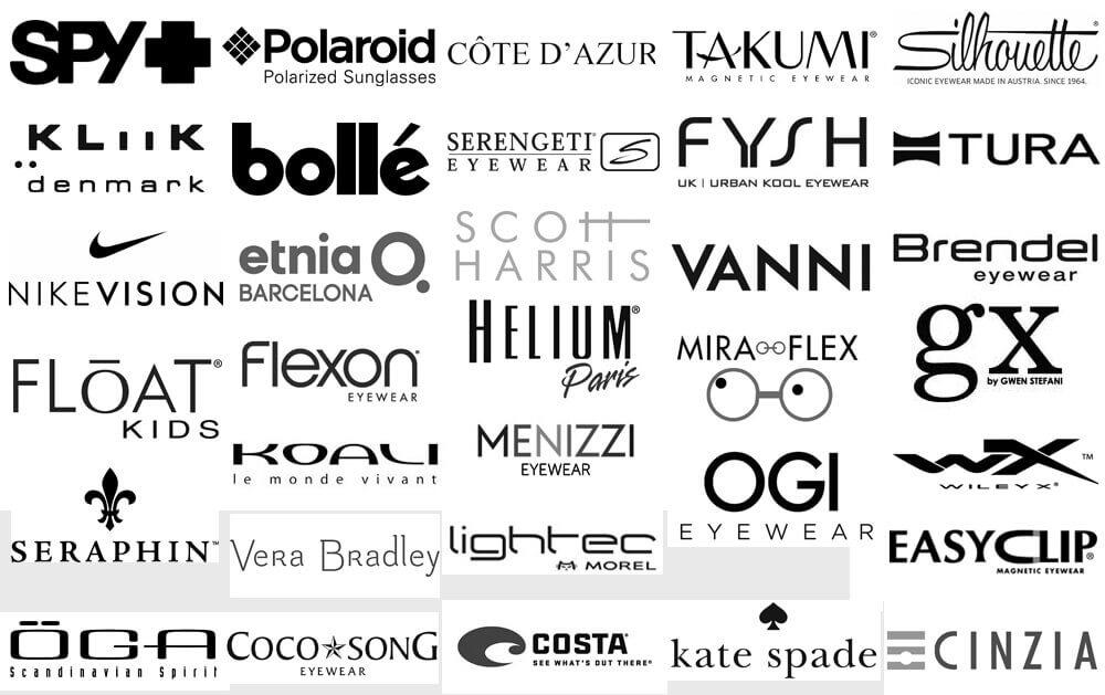 Eyewear Designer Logos